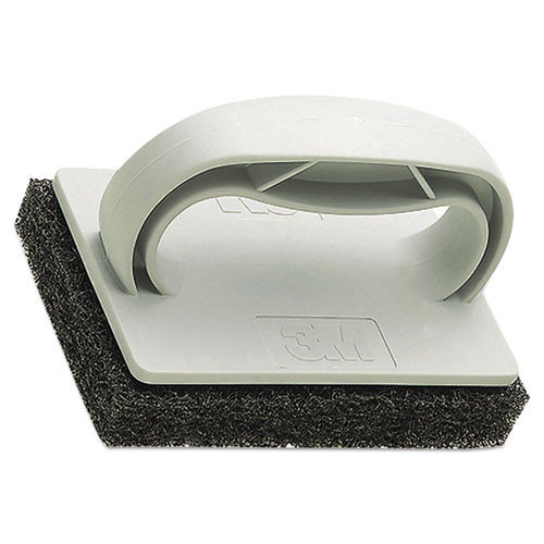 3M Twist-Lok Pad Holder  3 1 2  x 4 3 4  x 2 1 2    Light Gray  10 Carton (MMM09493)