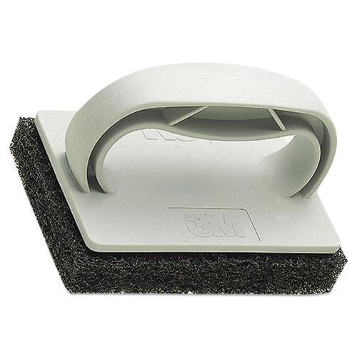 3M Twist-Lok Pad Holder  3 1 2  x 4 3 4  x 2 1 2    Light Gray  10 Carton (MMM09493)