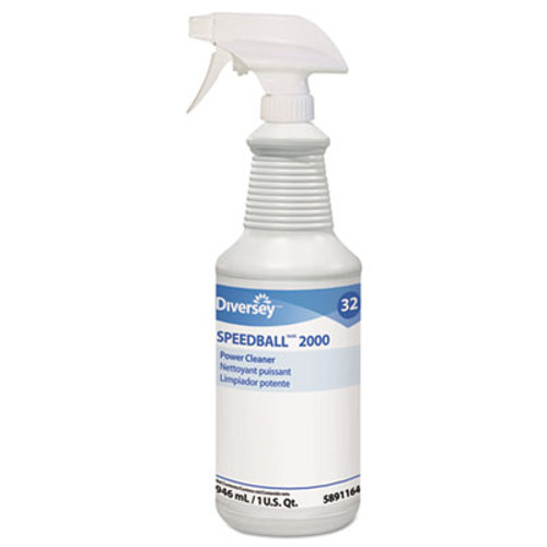 Diversey Speedball Heavy-Duty Cleaner  Citrus  Liquid  1qt  Spray Bottle  12 CT (DVO95891164)