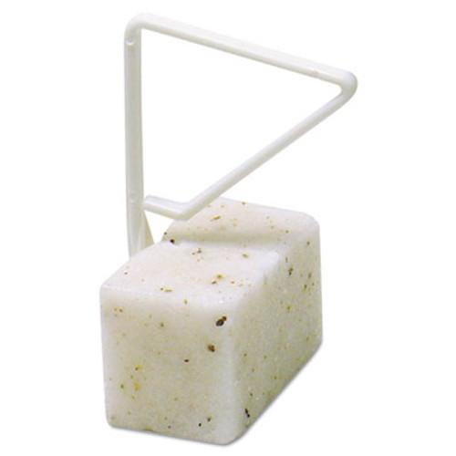 Fresh Products ParaZyme Toilet Bowl Block  3 5-Oz  White  Springtime Fragrance  Dozen (FRSPP1235BBS)