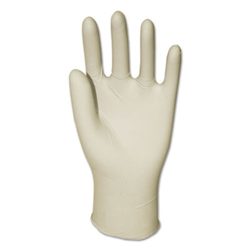 Boardwalk General Purpose Powdered Latex Gloves, Medium, 100/Box (BWK355MBX)