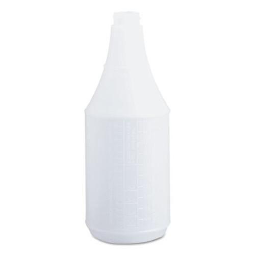 Boardwalk Embossed Spray Bottle, 24 oz, Clear, 24/Carton (BWK00024)