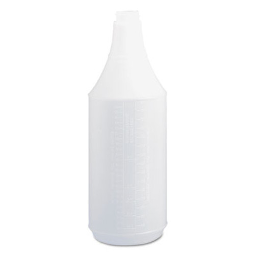 Boardwalk Embossed Spray Bottle  32 oz  Clear  24 Carton (BWK00032)