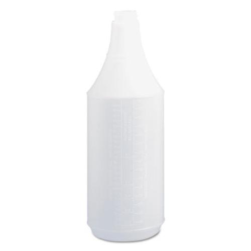 Boardwalk Embossed Spray Bottle  32 oz  Clear  24 Carton (BWK00032)