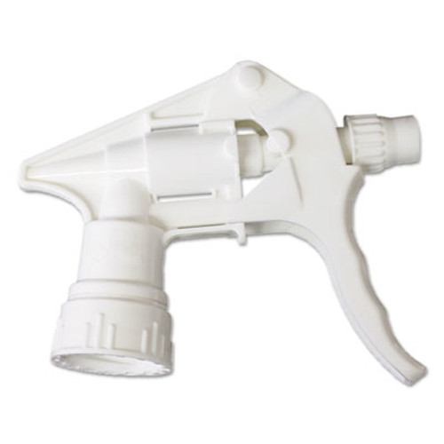 Boardwalk Trigger Sprayer 250 for 16-24 oz Bottles  White  8 Tube  24 Carton (BWK58108)