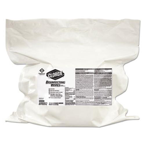 Clorox Disinfecting Wipes  Fresh Scent  7 x 8  700 Bag Refill  2 Carton (CLO31428)