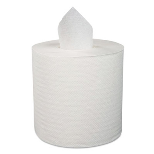 Boardwalk Center-Pull Roll Towels  1-Ply  12 W  1000 Roll  4 Carton (BWK410318)