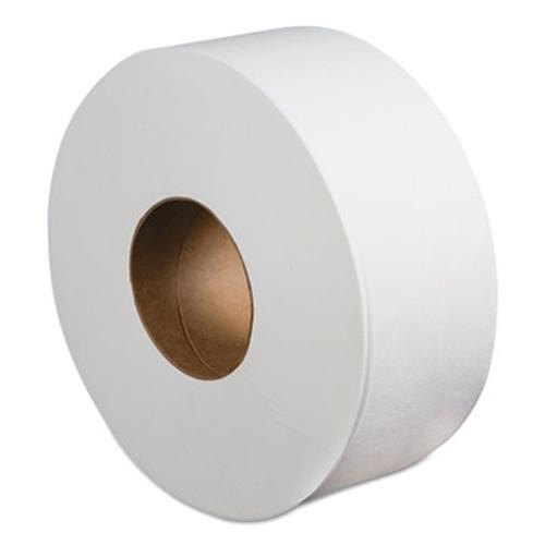 Boardwalk Jumbo Roll Bathroom Tissue  Septic Safe  2-Ply  White  3 4  x 1000 ft  12 Rolls Carton (BWK410323)