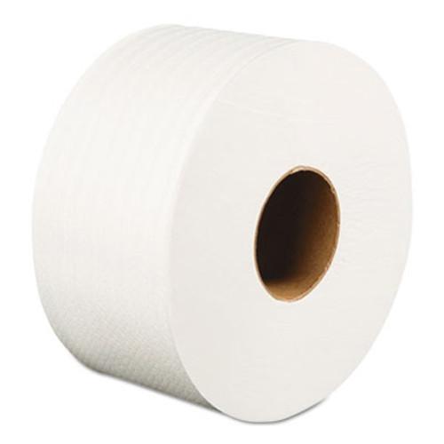 Boardwalk Jumbo Roll Bathroom Tissue  Septic Safe  2-Ply  White  3 2  x 525 ft  12 Rolls Carton (BWK410320)