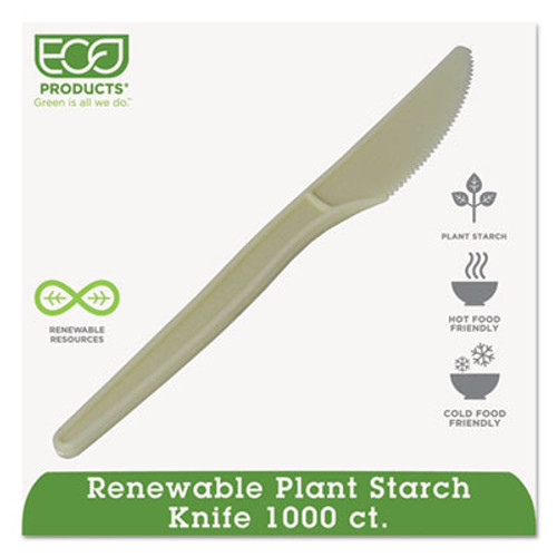 Eco-Products Plant Starch Knife - 7   50 Pack (ECOEPS001)