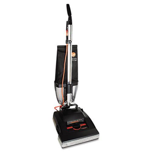Hoover Commercial Conquest Bagless Upright Vacuum, 25lb, Black (HVRC1800010)