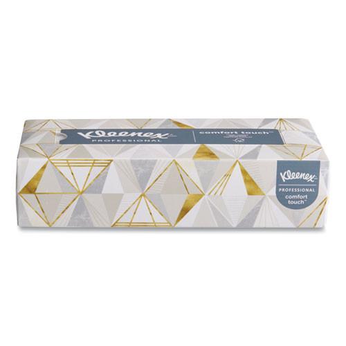 Kleenex White Facial Tissue  2-Ply  White  Pop-Up Box  125 Sheets Box  48 Boxes Carton (KCC21606CT)