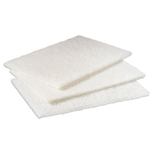Scotch-Brite PROFESSIONAL Light Duty Cleansing Pad  6  x 9   White  20 Pack  3 Packs Carton (MMM98)