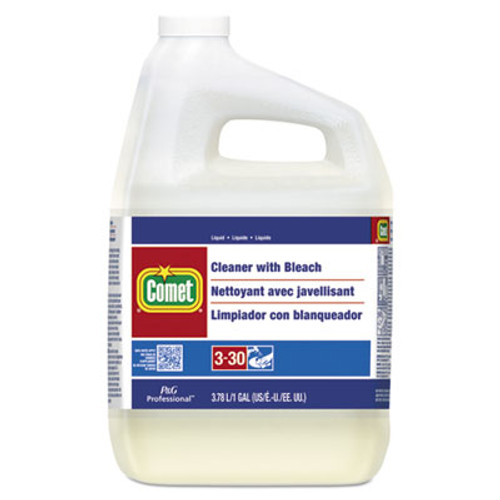 Comet Cleaner with Bleach  Liquid  One Gallon Bottle  3 Carton (PGC02291CT)