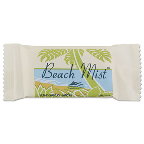 Beach Mist Face and Body Soap, Beach Mist Fragrance, .75oz Bar, 1000/Carton (BHMNO34A)