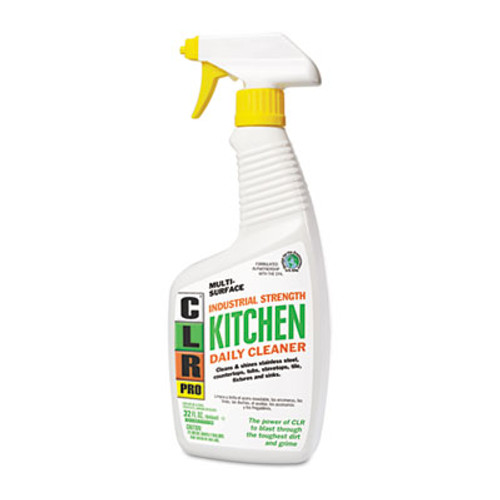 CLR PRO Kitchen Daily Cleaner  Light Lavender Scent  32 oz Spray Bottle (JELKITCHEN32PRO)