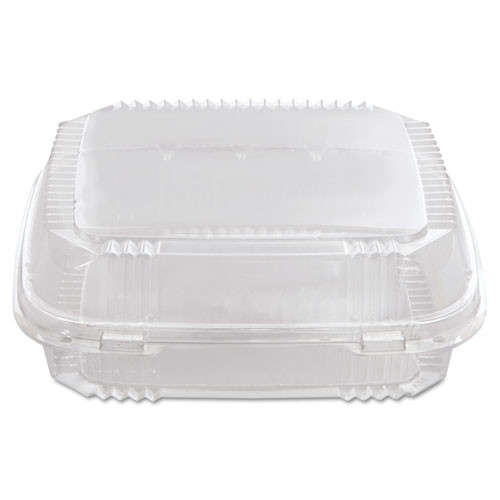 Pactiv ClearView SmartLock Containers  49oz  8 13 64 x 8 11 32 x 2 29 32  200 Carton (PCTYCI81120)