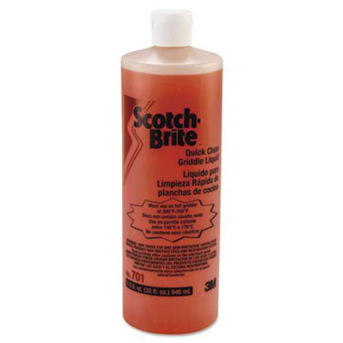 Scotch-Brite Quick Clean Griddle Liquid, 1 qt Bottle (MMM26012)