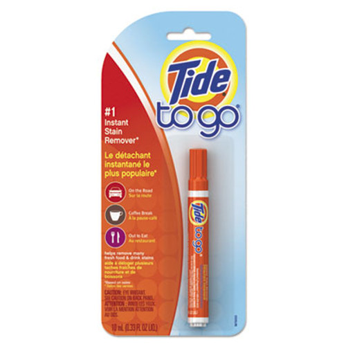 Tide To Go Stain Remover Pen  0 338 oz Pen  6 Carton (PGC01870CT)