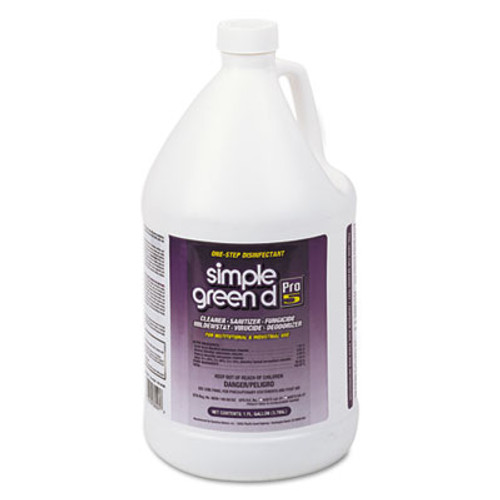 Simple Green d Pro 5 Disinfectant  1 gal Bottle (SMP30501CT)