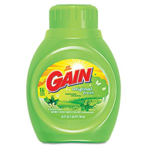 Gain Liquid Laundry Detergent  Original Fresh  25 oz Bottle  6 Carton (PGC12783CT)