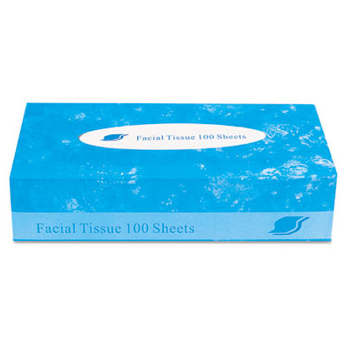 GEN Boxed Facial Tissue  2-Ply  White  100 Sheets Box (GENFACIAL30100)