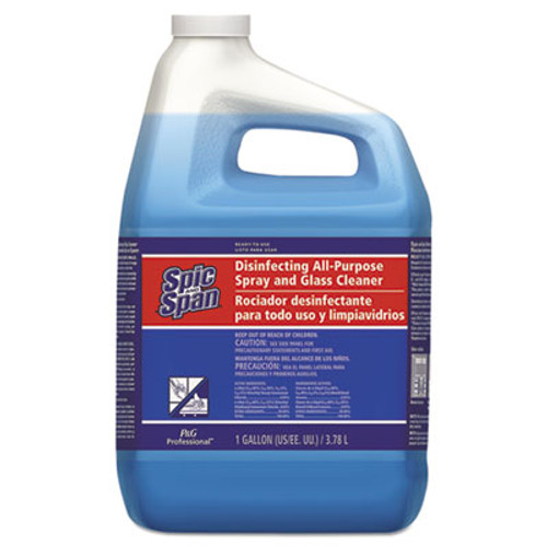 Spic and Span Disinfecting All-Purpose Spray and Glass Cleaner  Fresh Scent  1 gal Bottle  3 Carton (PGC58773CT)