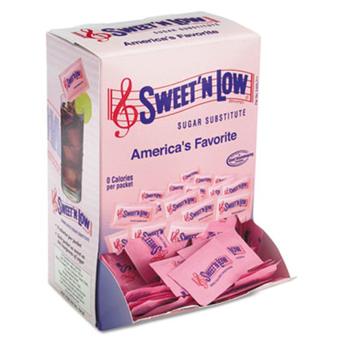 Sweet'N Low Zero Calorie Sweetener  1 g Packet  400 Packet Box  4 Box Carton (SMU50150CT)