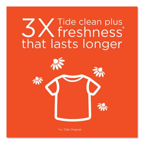 Tide Plus Febreze Liquid Laundry Detergent  Spring   Renewal  92oz Bottle  4 Carton (PGC87566CT)