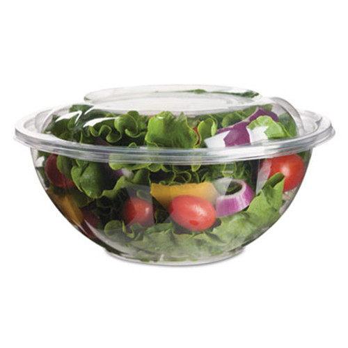 Eco-Products Renewable & Compostable Salad Bowls w/ Lids - 24oz., 50/PK, 3 PK/CT (ECOEPSB24)