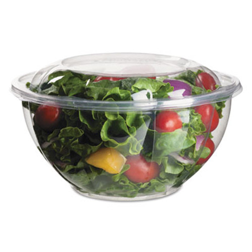 Eco-Products Renewable and Compostable Salad Bowls with Lids - 32 oz  50 Pack  3 Packs Carton (ECOEPSB32)