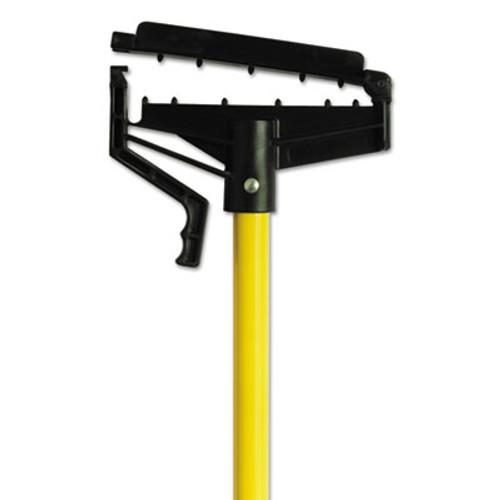 "O-Cedar Commercial Quick-Change Mop Handle, 60"", Fiberglass, Yellow, 6/Carton (DVOCB965166)"