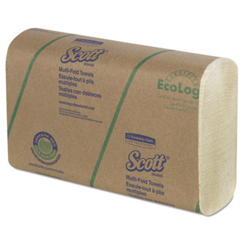Scott Multi-Fold Towels  20  Plant Fiber Absorbency Pkts 9 2 5x9 1 5  250 Pk  16 Pk CT (KCC43751)