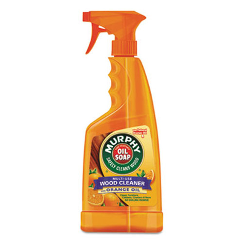 Murphy Oil Soap Spray Formula, All-Purpose, Orange, 22 oz Spray Bottle, 9/Carton (CPC01031)