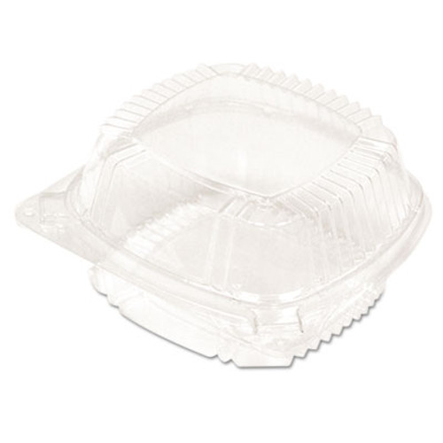 Pactiv SmartLock Food Containers  Clear  11oz  5 1 4w x 5 1 4d x 2 1 2h  375 Carton (PCTYCI81050)