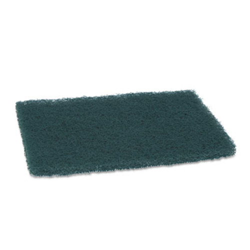 "Scotch-Brite PROFESSIONAL Commercial Heavy Duty Scouring Pad 86, 6"" x 9"", Green, 12/Pack, 3 Packs/Carton (MMM86CT)"