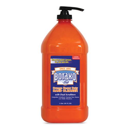 Boraxo Orange Heavy Duty Hand Cleaner  3 Liter Pump Bottle  4 Carton (DIA06058CT)