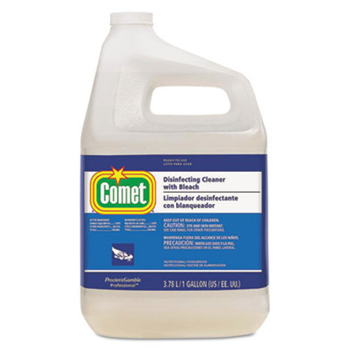 Comet Disinfecting Cleaner w Bleach  1 gal Bottle  3 Carton (PGC24651CT)