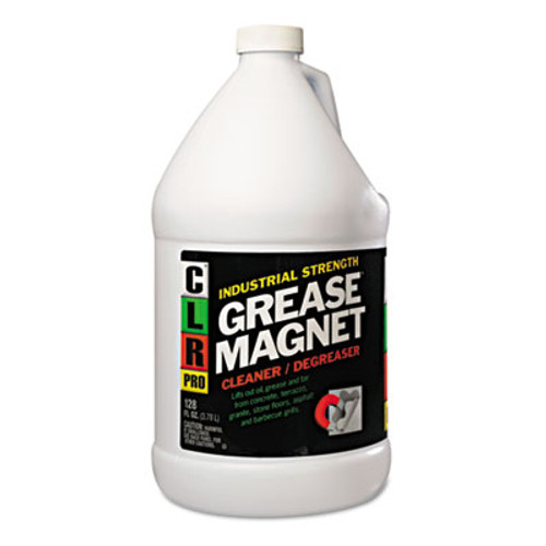 CLR PRO Grease Magnet  1gal Bottle  4 Carton (JELGM4PROCT)