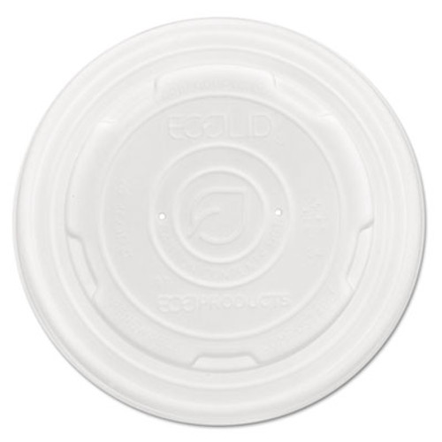 Eco-Products EcoLid Renew and Comp Food Container Lids for 12 oz  16 oz  32 oz  50 Pack  10 Packs Carton (ECOEPECOLIDSPL)