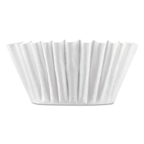 BUNN Coffee Filters, 8/10-Cup Size, 100/Pack, 12 Packs/Carton (BUNBCF100BCT)