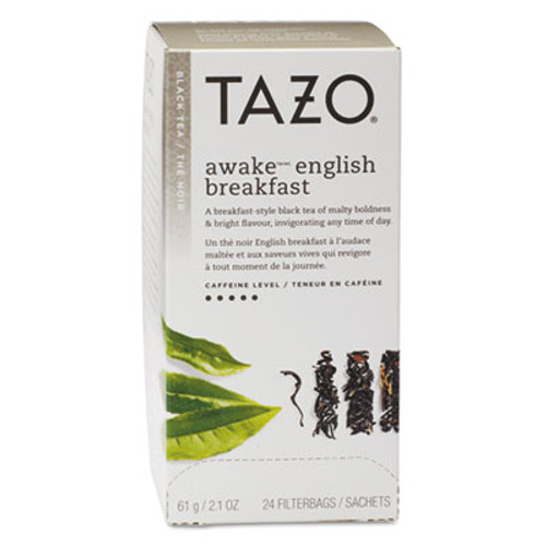 Tazo Tea Bags  Awake English Breakfast  24 Box (TZO149898)