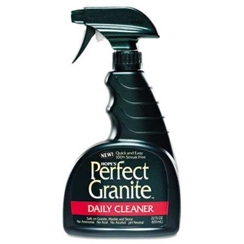 Hope's Perfect Granite Daily Cleaner  22oz Bottle (HOC22GR6)
