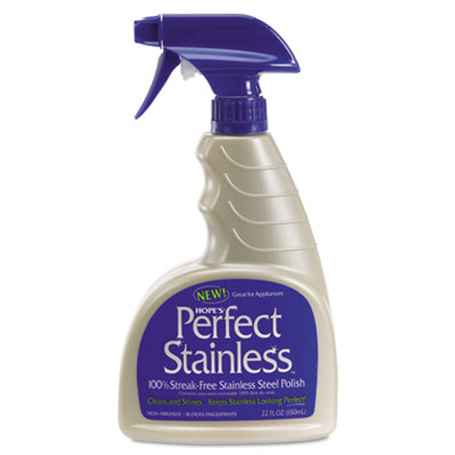 Hope's Perfect Stainless Stainless Steel Cleaner and Polish  22oz Bottle (HOC22PS6)