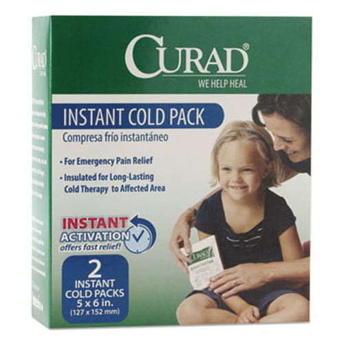 Curad Instant Cold Pack  2 Box (MIICUR961R)