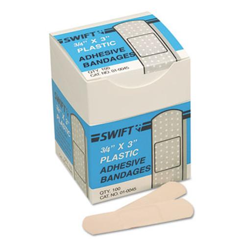 Swift Adhesive Bandages  3 4  x 3   Plastic (SWF010045)