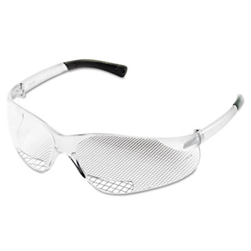 Crews Bearkat Magnifier Protective Eyewear, Clear, 1.00 Diopter (CRWBKH10)