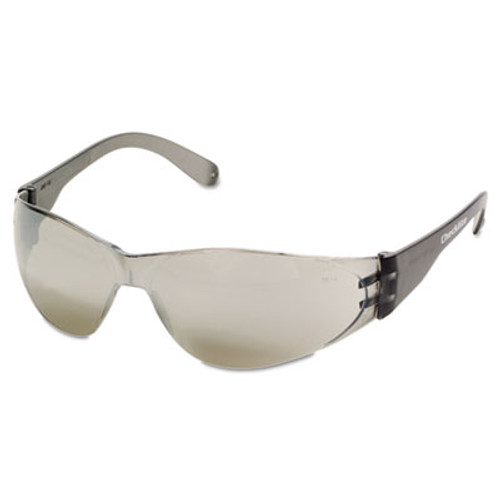 Crews Checklite Safety Glasses, Silver Mirror Lens (CRWCL117)
