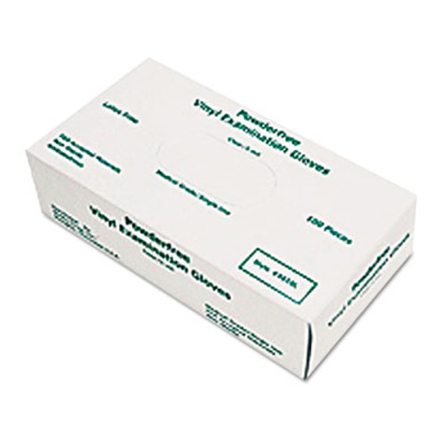 MCR Safety Disposable Vinyl Gloves  Large  5 mil  Medical Grade (MPG5010L)