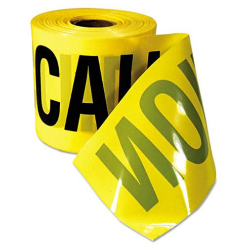 Empire Caution Barricade Tape   Caution Cuidado  Text  3 x200ft  Yellow w Black Print (EML770201)